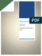 Funciones de Microsoft Excel Definitivo