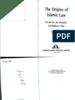Dutton the Origins of Islamic Law