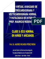 ECG y VCG Normal en Niños y Ancianos