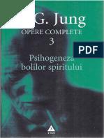 Jung 03 Psihogeneza Bolilor Spiritului PDF