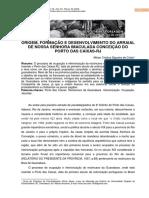 ORIGEM, FORMAÇÃO E DESENVOLVIMENTO DO ARRAIAL DE NOSSA SENHORA IMACULADA CONCEIÇÃO DO PORTO DAS CAIXAS-RJ