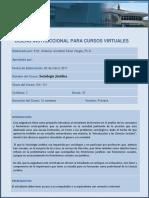 Formulario Para Diseno Instruccional Sociologia Juridica 3