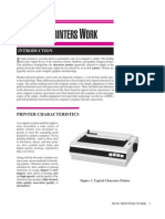 PRINTER - imprimante - cours 18