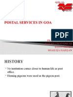 Postal Services in Goa