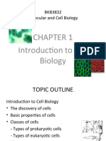 Chapter 1 Introduction to Cell Biology