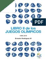 Libro 2 Juegos Olimpicos 1896-2016 - Ernesto Rodriguez III