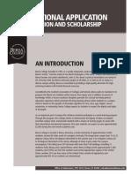 BEREA college International Application