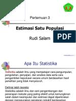 Pertemuan 03 Baru-Estimasi Satu Populasi.pptx