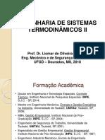 Engenharia de Sistemas Termodinâmicos II _ Agosto 2018_1