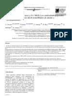 Estudio Comparativo of MoS2