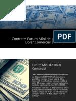Futuro Mini Dólar PDT