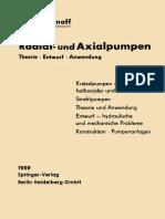 A. J. Stepanoff Ph.D. (Auth.)-Radial- Und Axialpumpen_ Theorie, Entwurf, Anwendung-Springer-Verlag Berlin Heidelberg (1957)