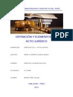DEFINICIÓN Y ELEMENTOS DEL ACTO JURIDICO.docx
