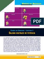 Lección 07 Salidas Digitales de Potencia