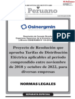 Resolución Osinergmin N° 134-2018-OS-CD