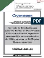 Resolución Osinergmin N° 134-2018-OS-CD