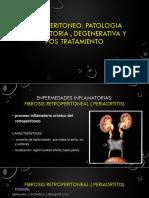 patologia inflamatoria retroperitoneo