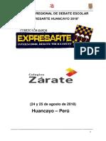 Manual de Debate Del Expresarte 2018 (1) (1)