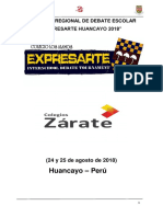 Manual de Debate Del Expresarte 2018 (1) (1)