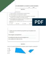 Examen de Matemáticas Correspondiente a La Secuencia 10
