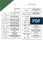Tabela Regras Pot Rad