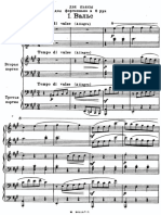 Rachmaninoff - Vals y Romanza para Piano a 6 Manos