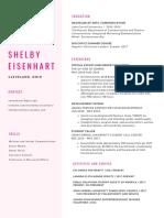 shelby e - resume