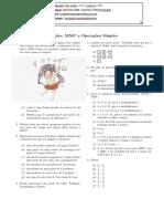 Mm - Fracoes Mmm Operações Simples - Julia Educativa - Mariana