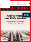 THE INDEPENDENT Issue 537 Sept 2018