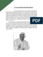 La Carta Natal Del Papa Francisco