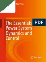 Hemanshu Roy Pota-The Essentials of Power System Dynamics and Control-Springer Singapore (2018)