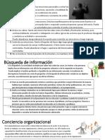 Autocontrol-Busqueda de Informcion- Conciencia Organizacional