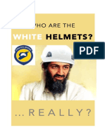 White Helmets Flyer by SSM