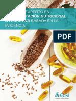 Suplementación nutricional integrativa