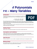 Ratio of Polynomials Fit - Many Variables