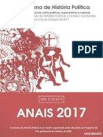 Anais SHP 2017