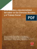 Diversidades y decolonialidad del saber en las ciencias sociales y el trabajo social.pdf