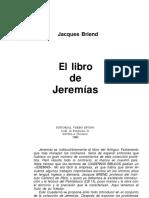 040 El Libro de Jeremias - Jacques Briend