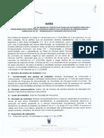 Aviso AEC´s 2018-2019