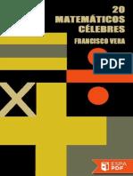 Veinte Matematicos Celebres - Francisco Vera (6)