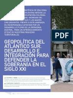 Geopolítica del Atlántico Sur