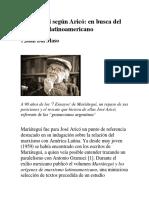 Mariátegui Según Aricó-En Busca Del Marxismo Latinoamericano_Juan Dal Maso