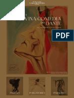 Dali y La Divina Comedia de Dante Diptico Informativo