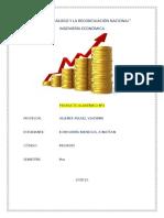 ingeniería económica - producto academica n°1 - entregable