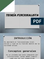 TEORíA FUNCIONALISTA