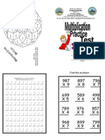 Math Booklet