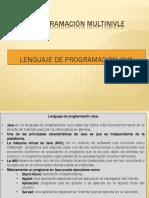 2.Lenguaje de Programacion Java