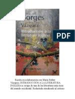Introduccion a La Literatura in - Jorge Luis Borges