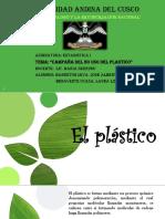 no uso del plastico