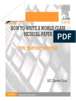 How to Write a World-class Paper